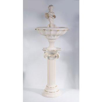 Ф334 фонтан  «ангел с ракушкой»