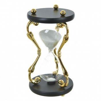 Часы песочные d=11см. h=21см. (на 30минут) (металл, стекло) (транспортная