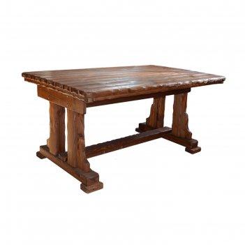 Журнальный стол «купец», 1100 x 700 x 650 мм, сосна, цвет старый орех