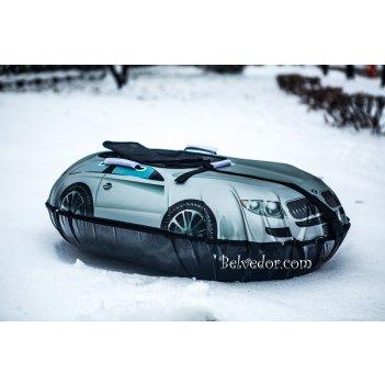 Ватрушка надувная snow car (вытянутые) серебристая bmw b550mb