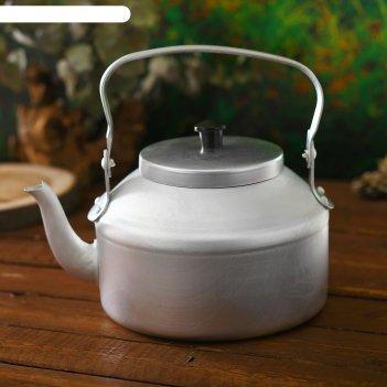 Чайник костровой следопыт, 3 л