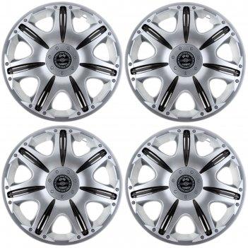 Колпаки на колеса опус super silver r15, комплект 4шт