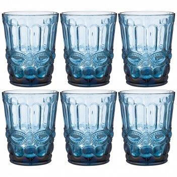 Набор стаканов серпентина из 6шт. серия muza color 270мл. / в=10 см (кор=6
