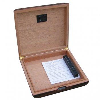 Afn-h315d  хьюмидор на 25 сигар с цифровым гигрометром арт.