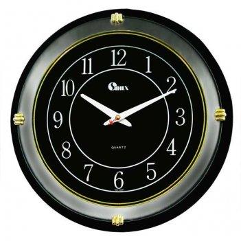 Большие настенные часы  4041blk