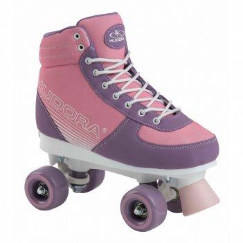Роликовые коньки hudora roller skates advanced, pink blush,  gr. 31-34 (13