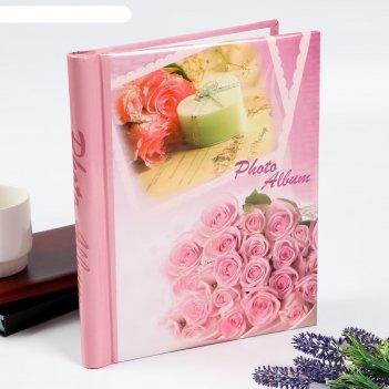 Фотоальбом магнитный на 20 листов энергия роз, микс