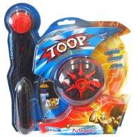 Волчок с контроллером toop single set марс : боевой волчёк + контроллер