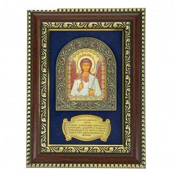 Панно, икона ангел-хранитель