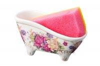 Подставка ванночка для губки 13,5*5,5*7 см.в ком...код т
