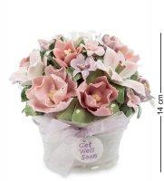 Cms-33/12 муз. композиция ваза с цветами (pavone)