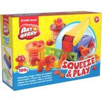 Пластилин на растительной основе squeeze&play 2бан*100г, ek 30365