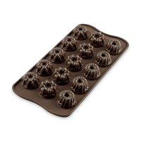 Форма для приготовления шоколадных конфет и пирожных fantasia, длина: 28 с