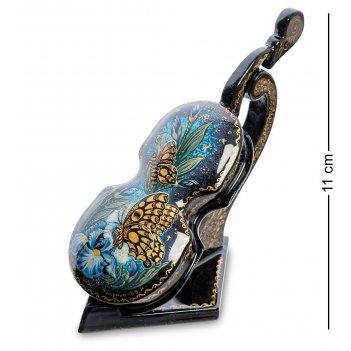 Шк-30/92 шкатулка скрипка-ирис