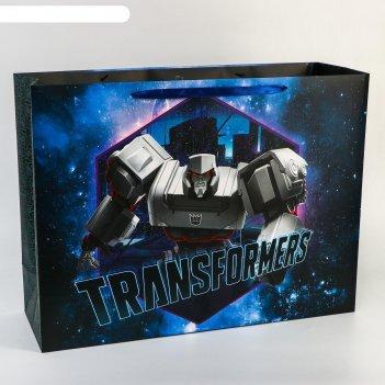Пакет ламинат transformers, 61х46х20 см, transformers