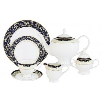 Чайный сервиз 40 предметов на 12 персон олимпия