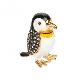 Шкатулка пингвин s-3225 черный