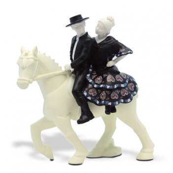 Статуэтка  763219 pareja a caballo