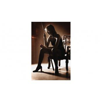 Постер snb01001 (420x594 мм) - девичьи игры на бильярде