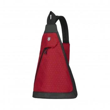 Рюкзак victorinox altmont original, с одним плечевым ремнём, красный, 25x1