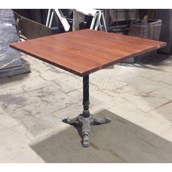 Чугунный стол «кафе» распродажа 0,8 м