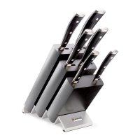 Набор ножей 6 предметов в подставке, серия classic ikon, wuesthof