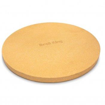 Толстый камень для пиццы broil king 38 см для сада