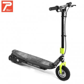 093eu электросамокат pulse sonic gray/yellow 200w – 24v