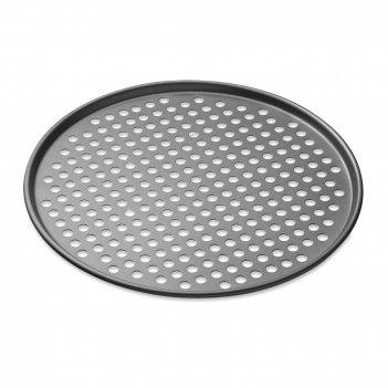 Противень для пиццы с антипригарным покрытием, диаметр: 33 см, материал: с