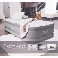 Кровать надувная premaire twin с встроенным насосом 220v, 99х191х46 см