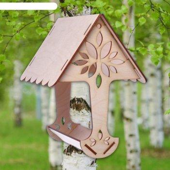 Кормушка для птиц древо, 23x15x21 см