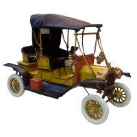 Модель автомобиля 1912 yellow ford t car, 30*14*19 см