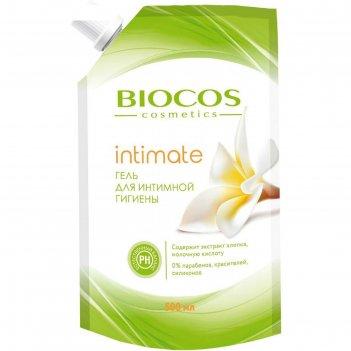 Гель для интимной гигиены с экстрактом хлопка и молочной кислотой bioсos,