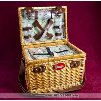Корзина-холодильник для пикника veronica на 4 персоны
