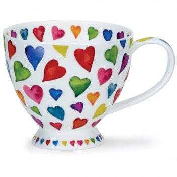 Чашка чайная dunoon добрые сердца 450мл