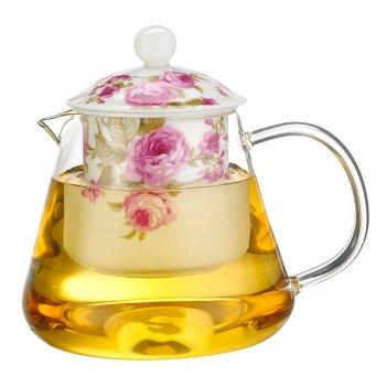 Чайник заварочный с керамическим фильтром 600 мл. ...
