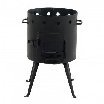 Печь под казан 9 л, толщина металла 2 мм, диаметр 374 мм