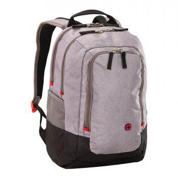 Рюкзак для ноутбука 14'' wenger, серый, нейлон/полиэстер, 29 x 2