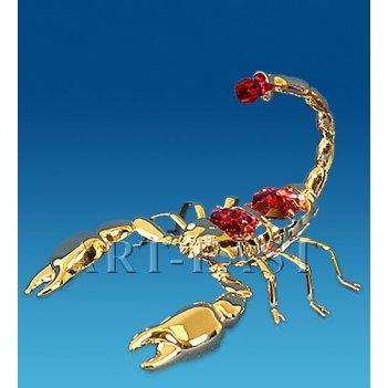Ar-3911/ 1 фигурка скорпион с цв.кр. (юнион)