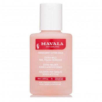 Жидкость для снятия лака mavala, розовая, 50 мл