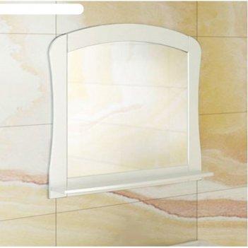 Зеркало для ванной венеция-80 74 х 80 х 14 см, белое