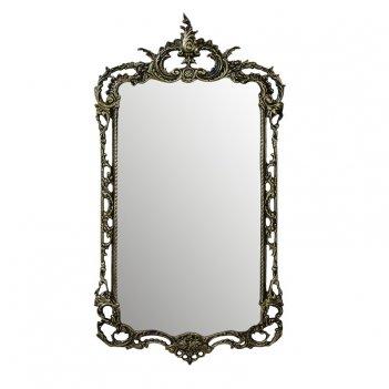 Зеркало в бронзовой оправе рэтта