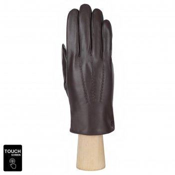 Перчатки мужские, натуральная кожа (размер 10) коричневый