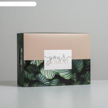 Коробка складная «тропики», 22 x 30 x 10 см