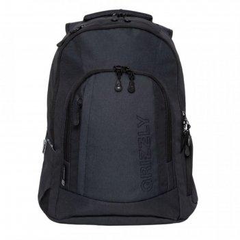 Рюкзак  молодежный эргоном.спинка grizzly rq-903-2 48*36*19 мал, чёрный