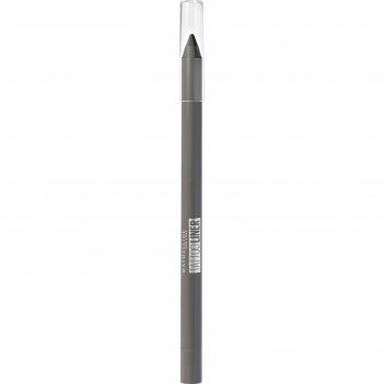 Карандаш для глаз гелевый maybelline tatoo liner, оттенок 901 графитовый