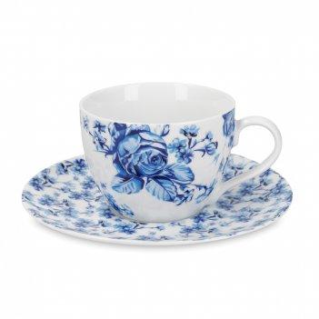 Пара чайная, объем: 200 мл, материал: фарфор, цвет: декор, серия mikasa ha