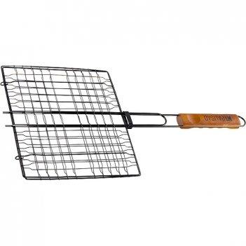 Решетка гриль 240 х 270 мм, антипригарное покрытие, camping palisad