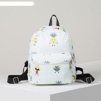 Рюкзак молод ненси, 23*12*28, отд на молнии, н/карман, 2 бок кармана, анан