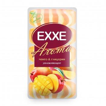 Крем+мыло exxe aroma глицериновое манго   глицерин оранжевое полосатое, 5
